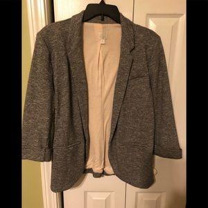 Gorgeous soft grey jacket new never wore